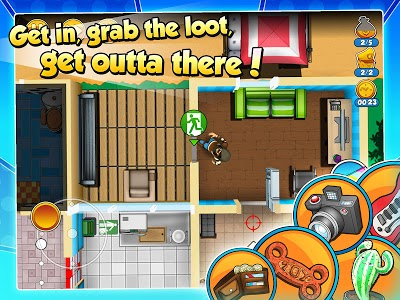 screenshot of Robbery Bob 2: Double Trouble version 1.6.8.1