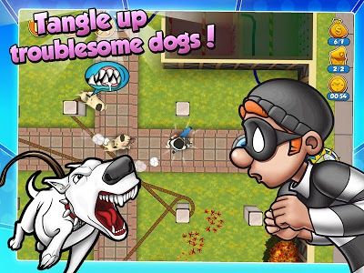 screenshot of Robbery Bob 2: Double Trouble version 1.6.7