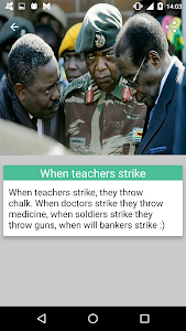 screenshot of Robert Mugabe Funny Quotes version 2.1