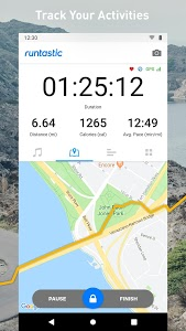 screenshot of Runtastic Running App: Run & Mileage Tracker version Varies with device