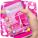 Paris Pink City SMS Theme