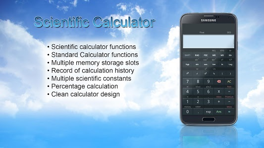 screenshot of Scientific Calculator App - Best Free Calc version 1.1.4