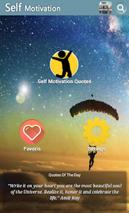 screenshot of Self Motivation Quotes version 6.8