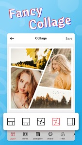 screenshot of Fancy Photo Editor - Collage Sticker Makeup Camera version 2.1.2