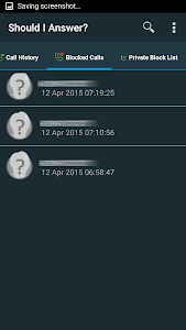 screenshot of Should I Answer? version Varies with device