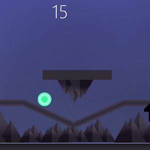 screenshot of Simple Runner! version 2.0