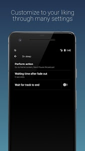 screenshot of Sleep Timer (Turn music off) version Varies with device