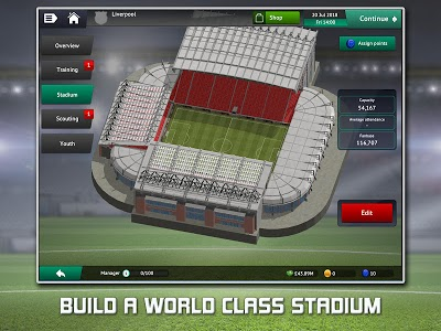 screenshot of Soccer Manager 2019 - Top Football Management Game version 1.2.2