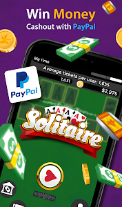 screenshot of Solitaire - Make Free Money and Play the Card Game version 1.6.7