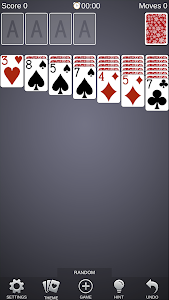 screenshot of Solitaire Card Games Free version 2.4.1