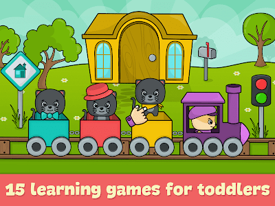 screenshot of Toddler games for 2-5 year olds version 1.97