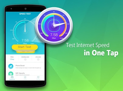 screenshot of Speed Check version Varies with device