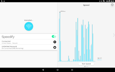 screenshot of Speedify - Fast & Reliable VPN version Varies with device