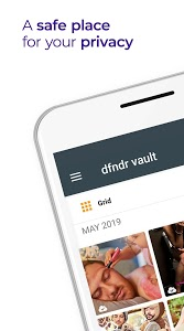 screenshot of dfndr vault: Hide Photos and Videos version 3.7.5
