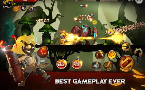 screenshot of Stickman Legends: Shadow War Offline Fighting Game version 2.4.9