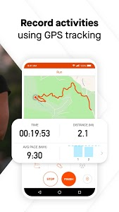 screenshot of Strava: Track Running, Cycling & Swimming version Varies with device