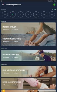 screenshot of Stretching Exercises - Flexibility Training version 1.1.3