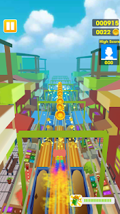 screenshot of Subway Dash: Jerry Escape version 1.0.1