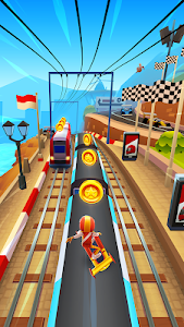 screenshot of Subway Surfers version 1.87.0