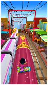 screenshot of Subway Surfers version 1.68.0