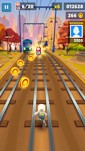 screenshot of Subway Surfers version 1.108.0