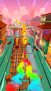 screenshot of Subway Surfers version 1.99.0