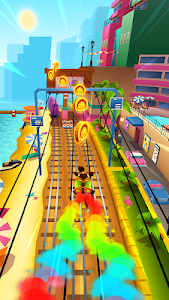 screenshot of Subway Surfers version 1.105.0