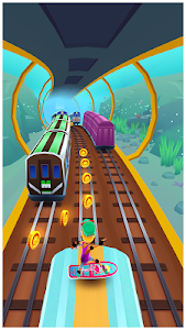 screenshot of Subway Surfers version 1.75.0