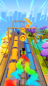 screenshot of Subway Surfers version 1.86.0