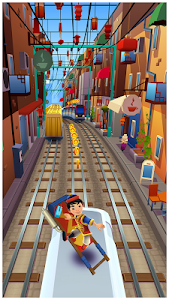 screenshot of Subway Surfers version 1.74.0