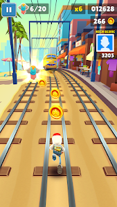 screenshot of Subway Surfers version 1.88.0
