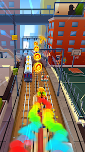 screenshot of Subway Surfers version 1.91.2