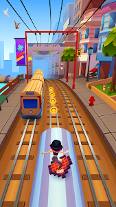 screenshot of Subway Surfers version 1.100.0