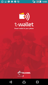 screenshot of T-Wallet version 1.0.7