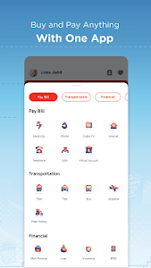 screenshot of LinkAja - Buy, Pay, Loan and Investment version 4.4.0