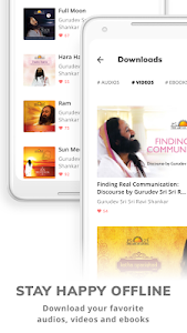screenshot of THE ART OF LIVING - Meditation, Spirituality, Yoga version 8.2.2