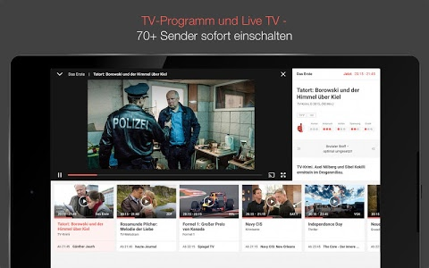 screenshot of TV SPIELFILM - TV-Programm mit LIVE TV version Varies with device