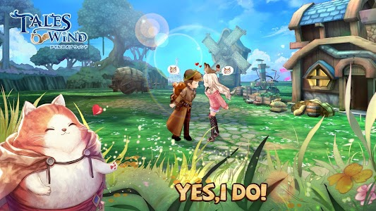 screenshot of Tales of Wind version 2.0.8