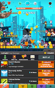 screenshot of Tap Titans 2 version 2.7.4