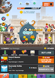 screenshot of Tap Titans 2 version 2.12.2