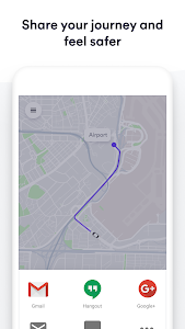 screenshot of Easy Tappsi, a Cabify app version Varies with device