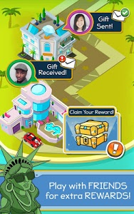 screenshot of Taps to Riches version Varies with device
