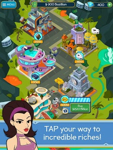 screenshot of Taps to Riches version 1.5