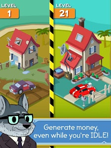 screenshot of Taps to Riches version 2.08