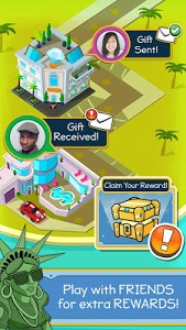 screenshot of Taps to Riches version 2.12