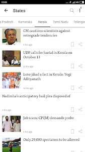 screenshot of The Hindu: English News Today, Current Latest News version 3.7.2