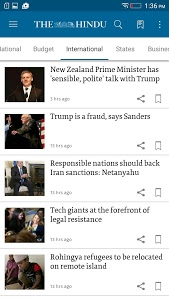 screenshot of The Hindu (Official News App) version Varies with device