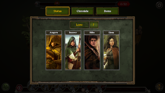 screenshot of The Lord of the Rings: Journeys in Middle-earth version 1.1.7