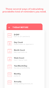 screenshot of TheDayBefore (D-Day countdown) version v3.5.4
