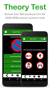 screenshot of Driving Theory Test Free 2020 for Car Drivers version Varies with device